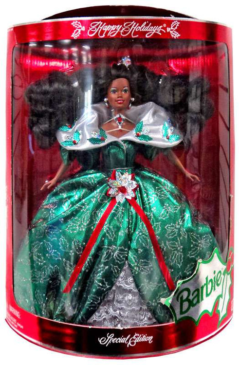 Happy Holidays Barbie Doll [1996 Special Edition, Damaged...