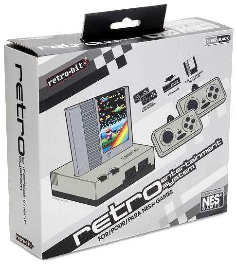 Nintendo Retro-Bit Retro Entertainment System [Silver]