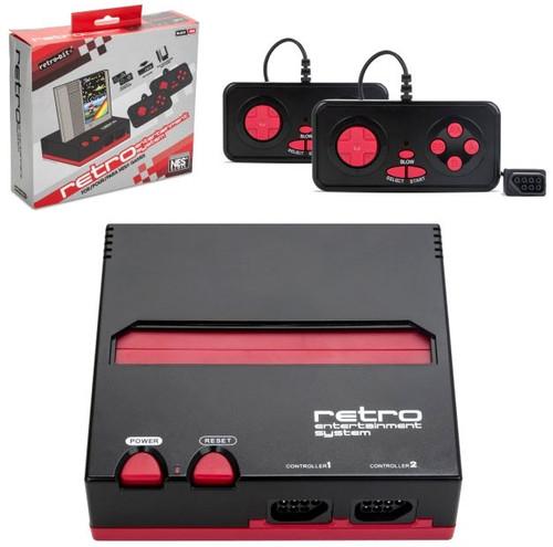 Nintendo Retro-Bit Retro Entertainment System [Black & Red]