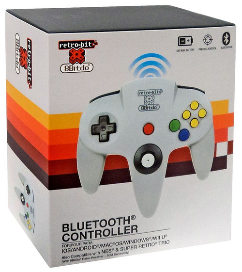 Retro-Bit 8Bitdo Bluetooth N64 Video Game Controller