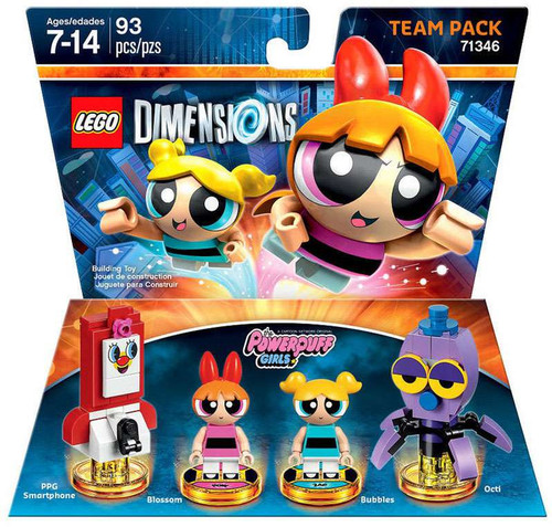 Warner Brothers LEGO Dimensions Powerpuff Girls PPG Smart...