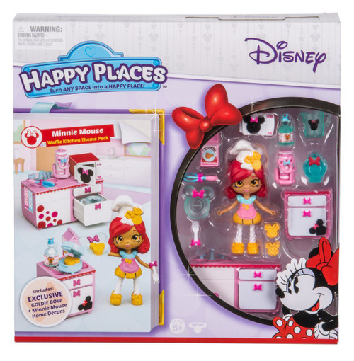 Disney Happy Places Minnie Mouse Theme Pack Waffle Kitchen ...