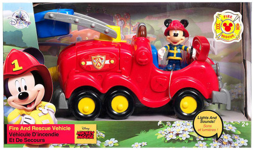 Disney Mickey Mouse Clubhouse Mickey Fire & Rescue Exclusive