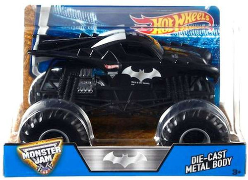 Mattel Hot Wheels Monster Jam 25 DC Comics Batman Diecast...