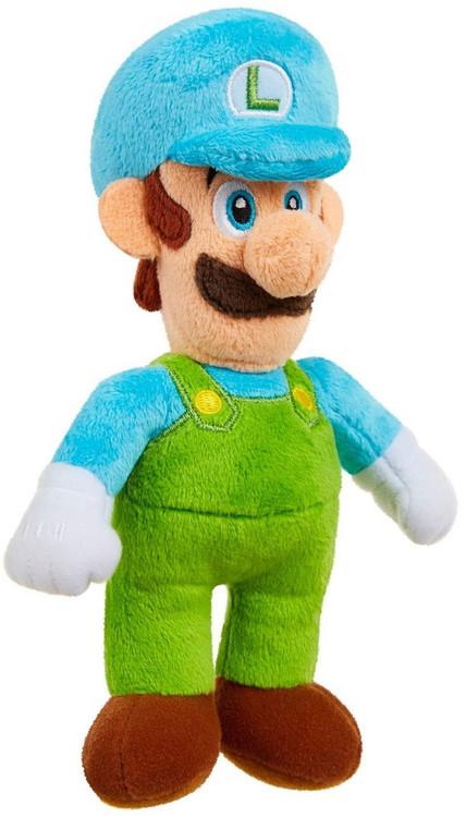 Jakks Super Mario World of Nintendo Ice Luigi 7-Inch Plush