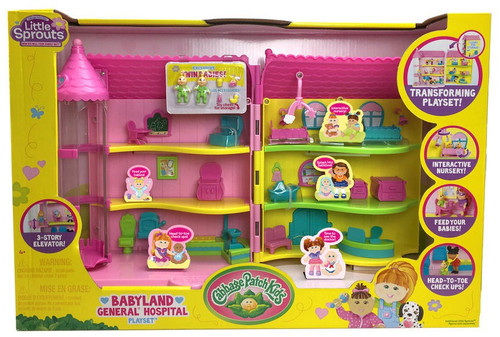 Cabbage Patch Kids Little Sprouts Babyland General Hospit...