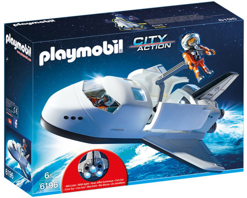 Playmobil City Action Space Shuttle Set #6196