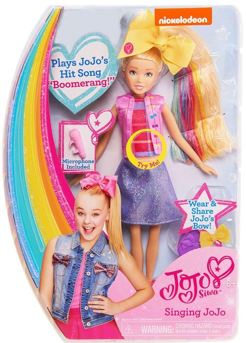 Nickelodeon Jojo Siwa Singing Jojo Doll Just Play Toywiz