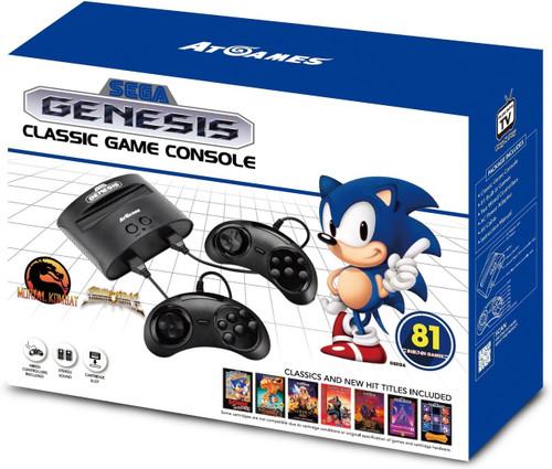 2017 Sega Genesis Classic Video Game Console [81 Games]