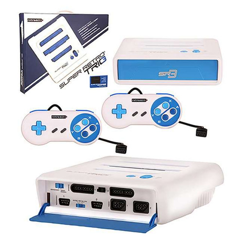 Nintendo Super RetroTRIO 3 in 1 System (NES, SNES & Genes...