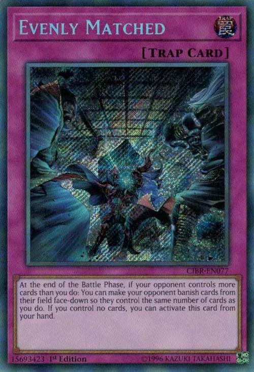 Yugioh Circuit Break Single Card Secret Rare Evenly
