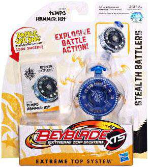Beyblade XTS Stealth Battlers Tempo Hammer Hit Single Pac...