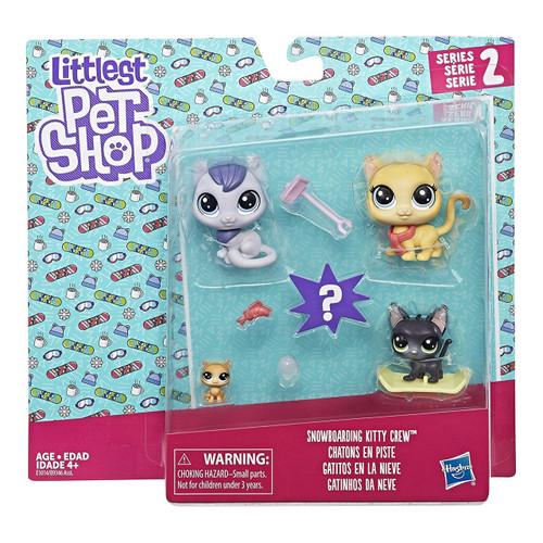 Littlest Pet Shop Snowboarding Kitty Crew Family Pack (Pr...