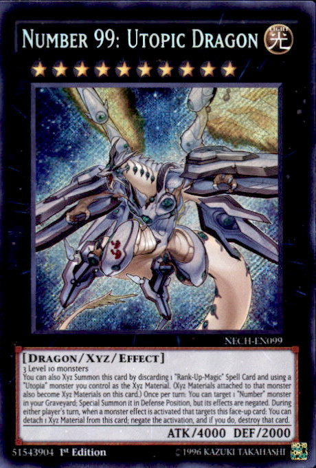 Yugioh The New Challengers Single Card Secret Rare Number