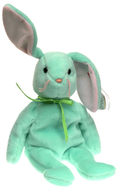 Boyds Beanie Babies Hippity the Bunny Beanie Baby Plush [...