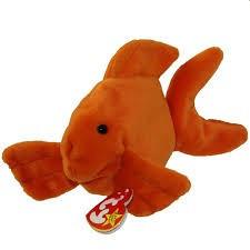 Beanie Babies Goldie the Goldfish Beanie Baby Plush