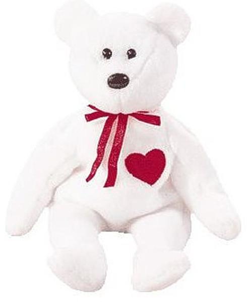 Beanie Babies Valentino the Valentines Bear Beanie Baby P...