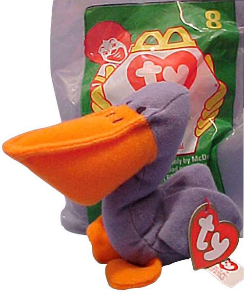 Beanie Babies McDonalds Scoop the Pelican Beanie Baby Plu...