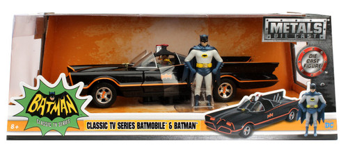 DC Batman 1966 TV Series Batmobile Die Cast Vehicle (Pre-...