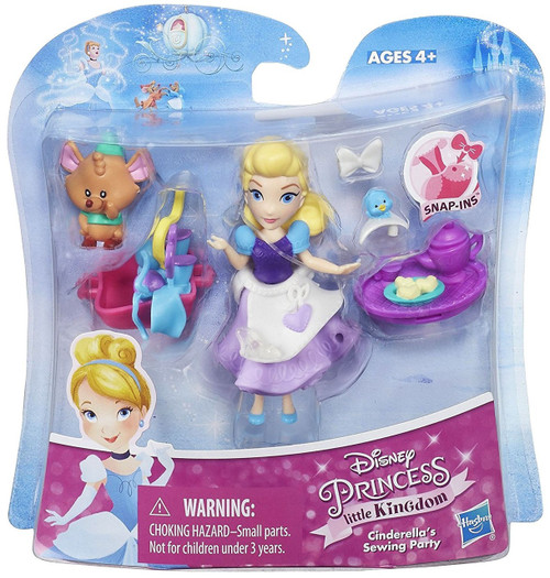 Disney Princess Little Kingdom Cinderella's Sewing Party ...