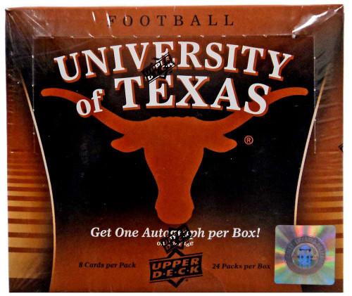 Collegiate 2011 University of Texas Trading Card HOBBY Box