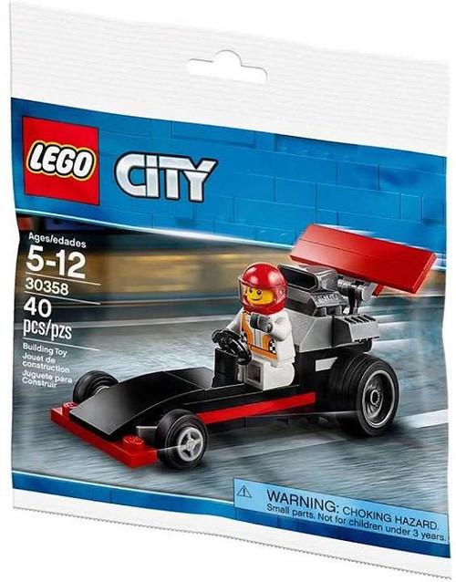 LEGO City Dragster Mini Set #30358