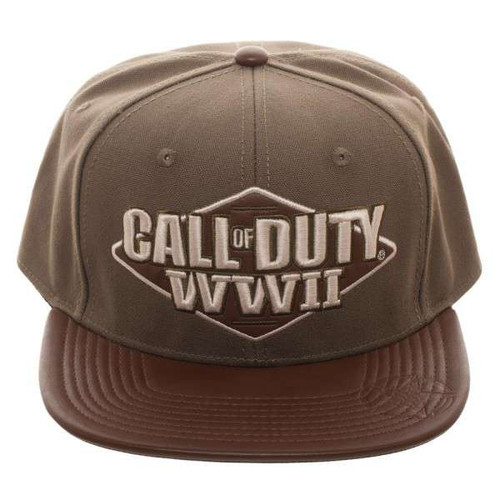 Call of Duty World War II 3D Embroidered Snapback Cap (Pr...