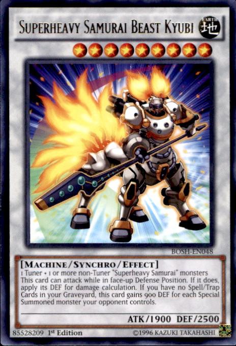 yugioh breakers of shadow single card rare superheavy