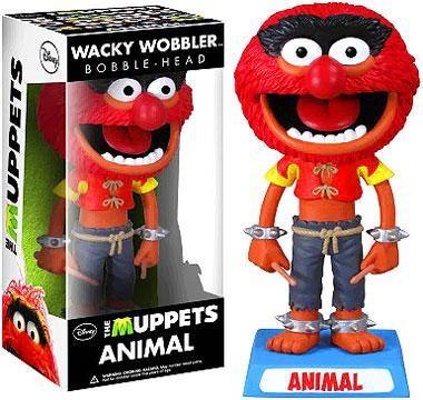 FUNKO INC. The Muppets Wacky Wobbler Animal Bobble Head
