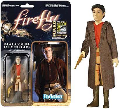 FUNKO INC. Firefly ReAction Malclom Reynolds Exclusive Ac...