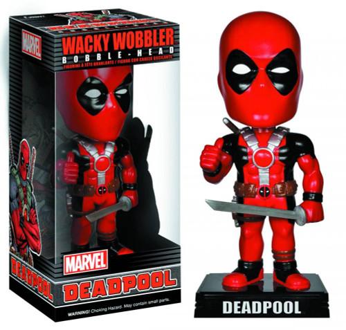 FUNKO INC. Marvel Wacky Wobbler Deadpool Bobble Head
