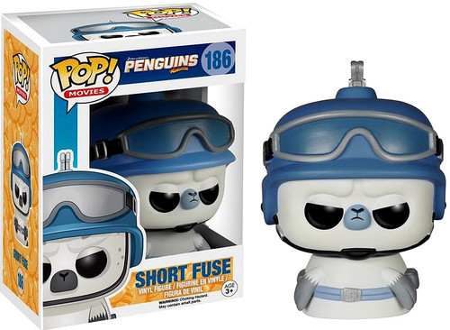 FUNKO INC. The Penguins of Madagascar Funko POP Movies Sh...