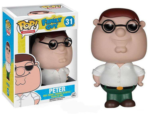 Funko Family Guy Pop Animation Peter Griffin Vinyl Figure