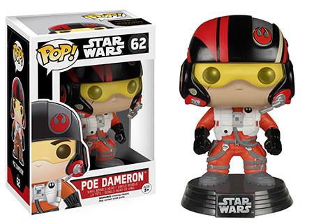 FUNKO INC. The Force Awakens Funko POP Star Wars Poe Dame...