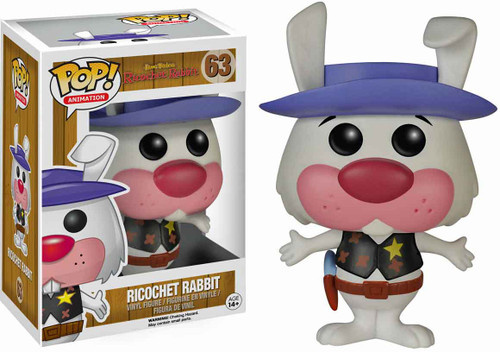 FUNKO INC. Hanna-Barbera Funko POP TV Ricochet Rabbit Vin...