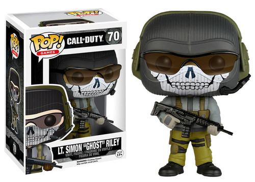 FUNKO INC. Call of Duty Funko POP Games LT. Simon Ghost R...