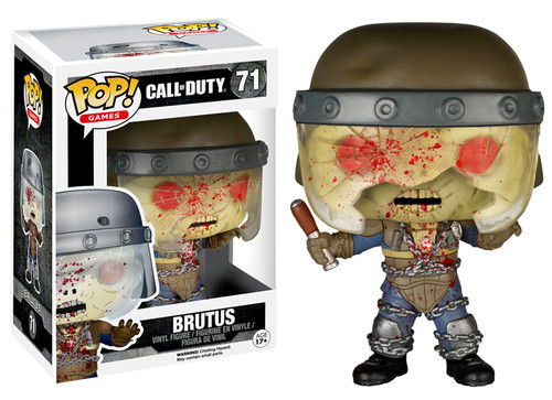 FUNKO INC. Call of Duty Funko POP Games Brutus Vinyl Figu...