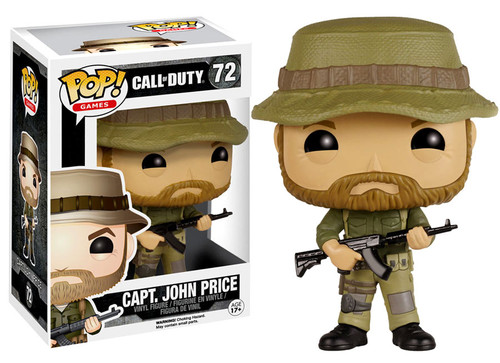FUNKO INC. Call of Duty Funko POP Games Capt. John Price ...