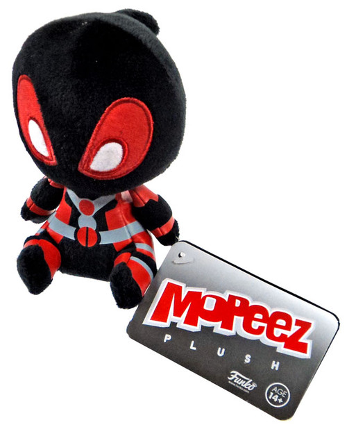 FUNKO INC. Marvel Collector Corps Black Deadpool Mopeez P...