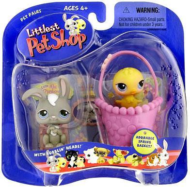 Hasbro Littlest Pet Shop Pet Pairs Bunny & Chick Figure 2...