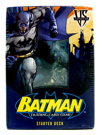 Upper Deck DC VS System Trading Card Game Batman Starter ...