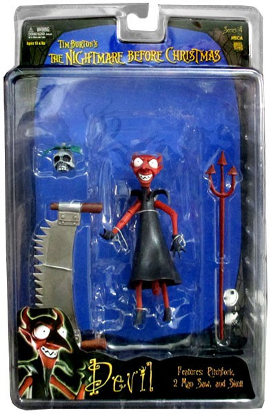 neca the nightmare before christmas series 4 devil action