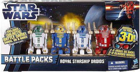 Hasbro Star Wars The Phantom Menace Battle Packs 2012 Roy...