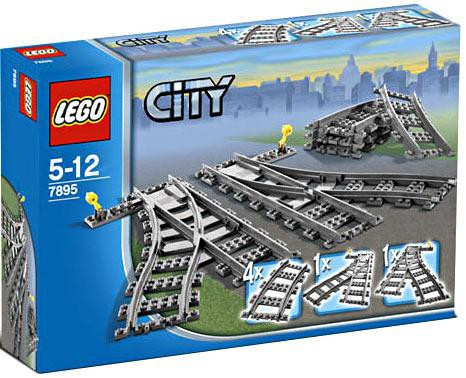 Lego City Switch Tracks Set #7895