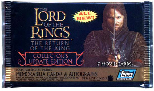 Topps The Lord of the Rings The Return of the King Trading Card Pack [Update Edition]