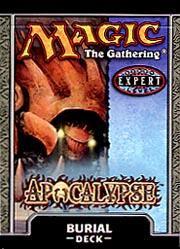 Wizards Of The Coast MtG Apocalypse Burial Theme Deck [Se...