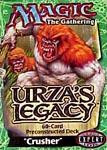 Wizards Of The Coast MtG Urza's Legacy Deck Crusher Theme...