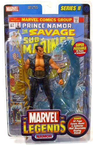 marvel legends series 2 namor the sub-mariner action figure toy biz