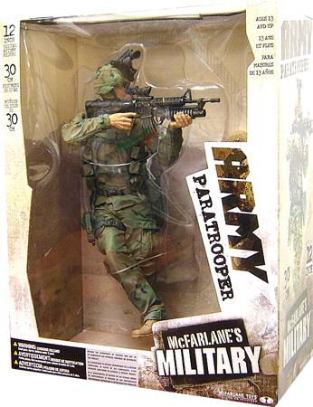 Mcfarlane Toys Military Army Paratrooper 12 Inch Action F...