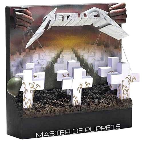 Mcfarlane Toys Pop Culture Masterworks Metallica Master Of